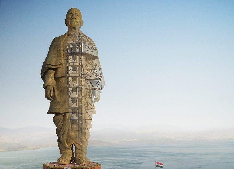 estatua da unidade india e