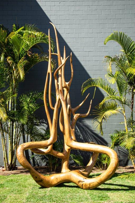 Escultura Awape foto Tomas Vianna