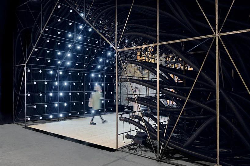 latvian pavilion at the venice architecture biennale ecde